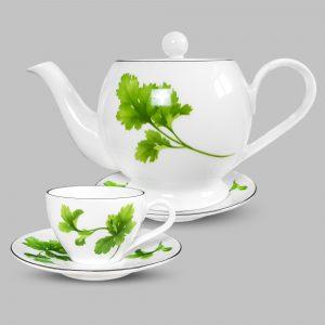 Bộ tách trà hoa ngò