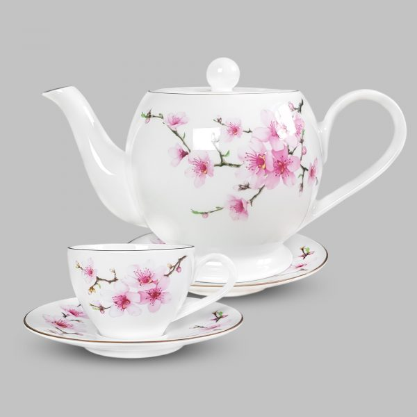 Bộ trách trà Hoa đào