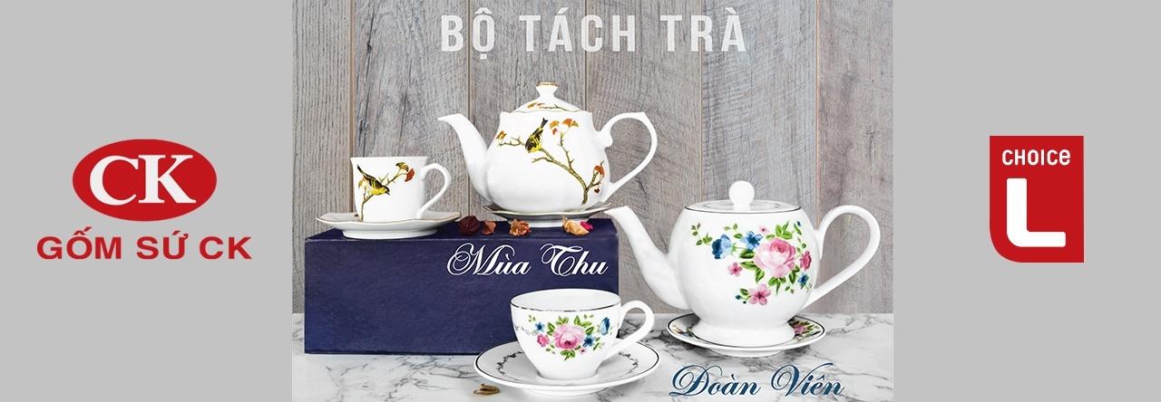 khuyến mãi bộ tách trà trung thu Lottemart